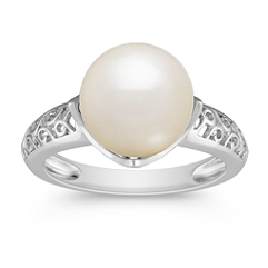 10mm Cultured South Sea Pearl Ring