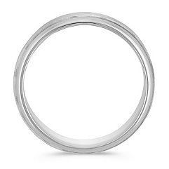 Comfort Fit Ring in 14k White Gold (7mm)
