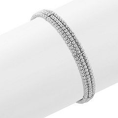 Sterling Silver Flex Cuff Bracelet (7 in.)