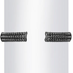Black Sterling Silver Flex Cuff Bracelet (7)