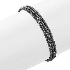 Black Sterling Silver
