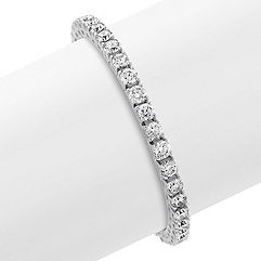 Round Diamond Tennis Bracelet (7 in.)