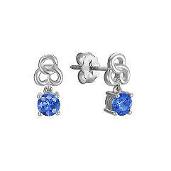 Kentucky Blue Sapphire Earrings