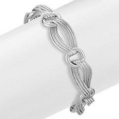 Sterling Silver Link Bracelet (8 in.)