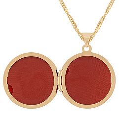 14k Yellow Gold Round Locket (18)
