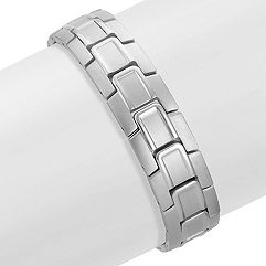 Polished Stainless Steel Bracelet (8.5 in.)