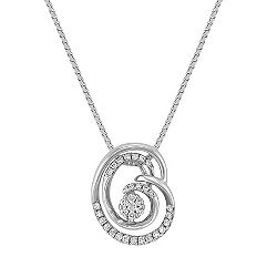 Diamond Cluster Pendant (18 in.)