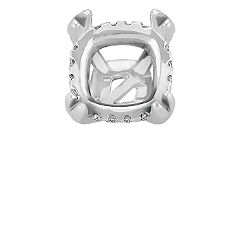 Diamond Alexa Head to Hold up to 1.50 ct. Cushion Cut Stone