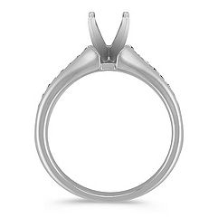 Channel Set Classic Engagement Ring