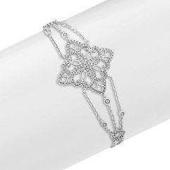 Vintage Diamond Bracelet (7 in.)