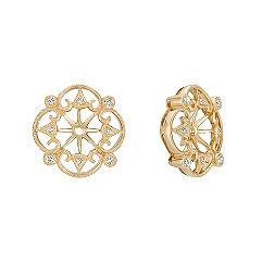 Vintage Diamond Earring Jackets