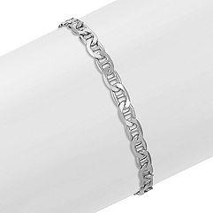 Sterling Silver Bracelet (8.5 in.)