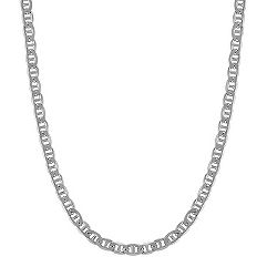 Sterling Silver Mariner Necklace (24 in.)
