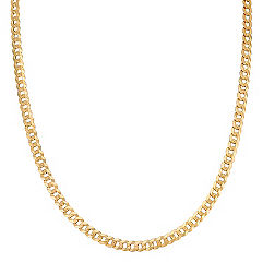 Curb Necklace in 14k Yellow Gold (24)