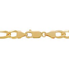 14k Yellow Gold Figaro Necklace (24)