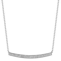 Diamond Bar Necklace (17 in.)