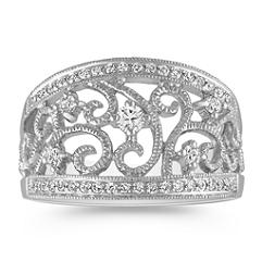 Vintage Diamond Fashion Ring