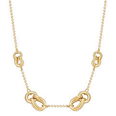 14k Yellow Gold Knot Necklace (18)