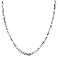 Graduated Diamond Necklace (16 in.)