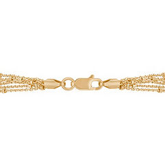 14k Yellow Gold Capri Bracelet (7.5)