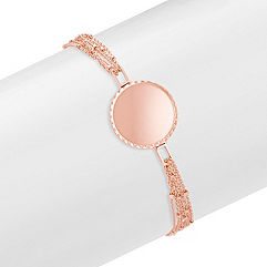 14k Rose Gold Capri Bracelet (7.5 in.)