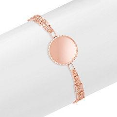 14k Rose Gold Capri Bracelet (7.5)