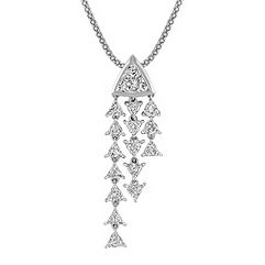 Trillion Diamond Pendant (22)
