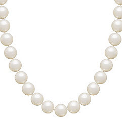 10mm Cultured Freshwater Pearl Necklace (18 in.)