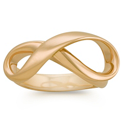 Infinity Fashion Ring in Yellow Gold