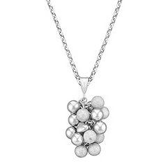 Sterling Silver Cluster Pendant (18)