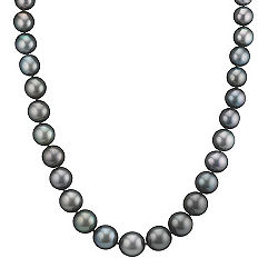 8-11mm Cultured Tahitian Pearl Necklace (18 in.)