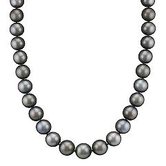 10-12mm Cultured Tahitian Pearl Necklace (17 in.)
