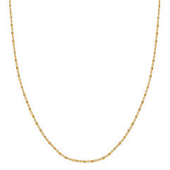 14k Yellow Gold Oval Link Necklace (18)