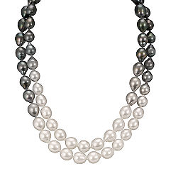 9-10mm Cultured South Sea and Tahitian Pearl Strand (36 in.)