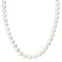 9mm Cultured Akoya Pearl Necklace (18 in.)