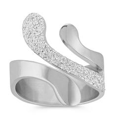 Splash Ring in Sterling Silver