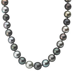 11-13.5mm Multi-Colored Cultured Tahitian Pearl Strand (18 in.)