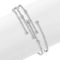 Diamond Fireworks Bangle Bracelet
