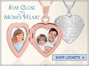 Shop Lockets for Mom