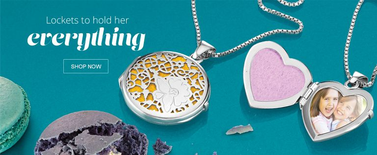Shop Lockets to Hold Her Everything