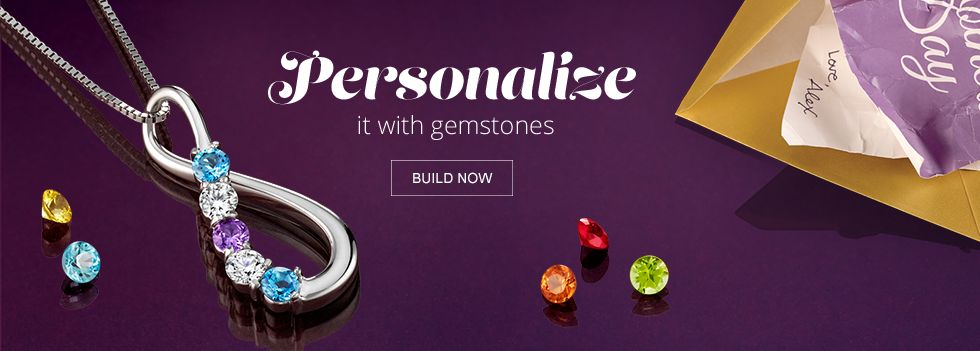 Personalize It with Gemstones