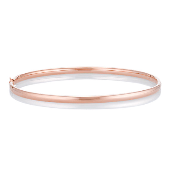 14k Rose Gold Bangle Bracelet (7)