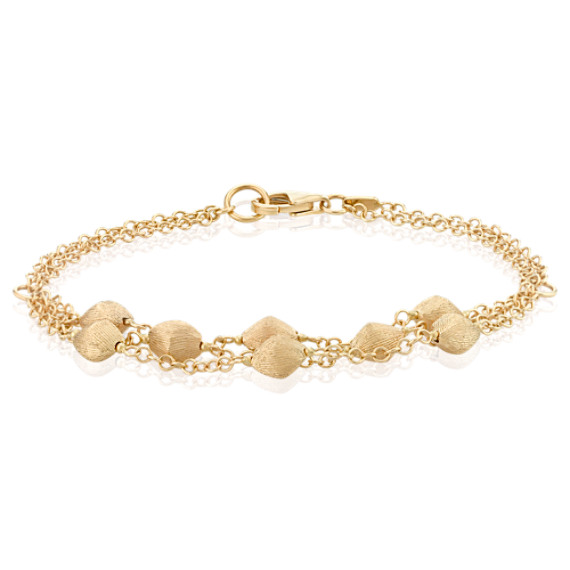 "14k Yellow Gold Bracelet (7.5"")"