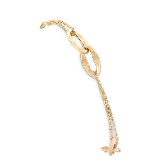 "14k Yellow Gold Bracelet (7.5"")"