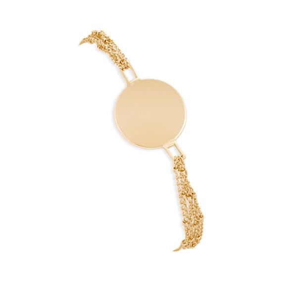 14k Yellow Gold Capri Bracelet (7.5)
