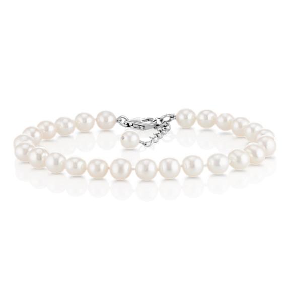6.5mm Cultured Freshwater Pearl Bracelet (7.5)