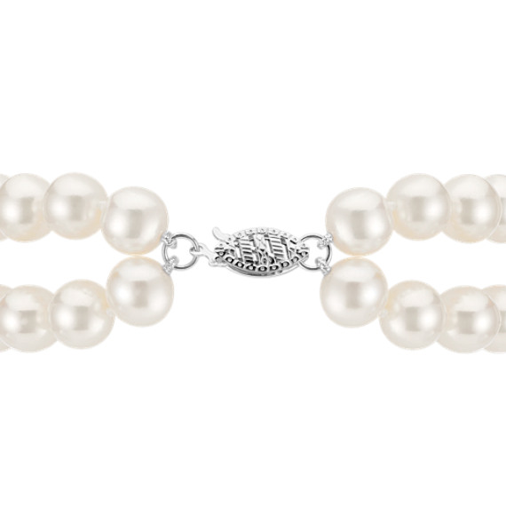 "7.5mm Cultured Freshwater Pearl Bracelet (7.5"")"