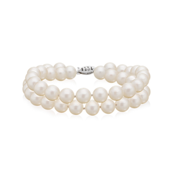 7.5mm Cultured Freshwater Pearl Bracelet (7.5)