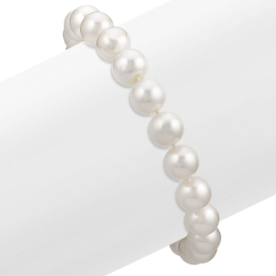 "8mm Cultured Freshwater Pearl Bracelet (7.5"")"