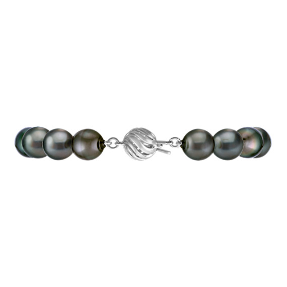 9mm Cultured Tahitian Pearl Bracelet (7.5'')